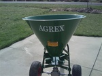 Agrex Pull Type Fertilizer Spreader SP100