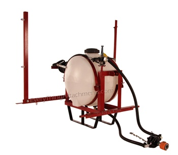 55 gallon Southern tractor 3 point sprayer with 12' folding boom
