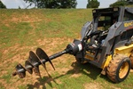 "McMillen X975 Skid Steer, Skidsteer, Planetary Auger Drive Unit, 2 9/16"" Round"