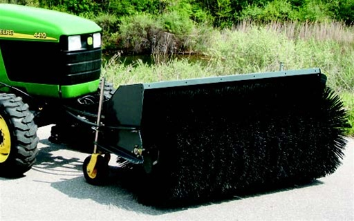 Sweepster Front Mount Hydraulic Drive Sweeper For Compact