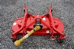 "Phoenix M60-S Tractor Finish Mower 60"", PTO driven, Rear Discharge, Solid Tires"