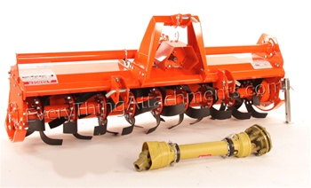"Phoenix T10-GE Series Heavy Duty 74"" 3 Point Hitch, Tractor PTO Driven Rotary Tiller from Sigma"