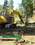 Rockhound BrushHound 50EXHD Brush Mower/Shredder for Large Excavators