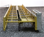 16 foot extendable electric hay elevator conveyor by Snowco