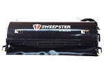 "Sweepster Skid Steer, Skidsteer, Hopper Broom, Pick up sweeper, 60"", Poly or Poly/Wire Brush"