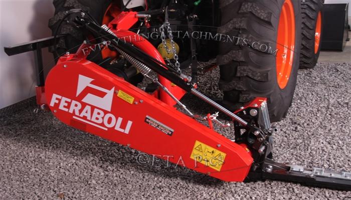 Tractor Pto Lift Bar : Tractor point pto sickle bar mower farm maxx feraboli rossi