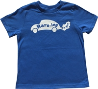 Toddler Crew Neck Short Sleeve with Raring to go logo