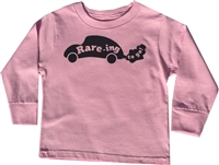 Toddler Long Sleeve Crew Neck with Raring to go logo