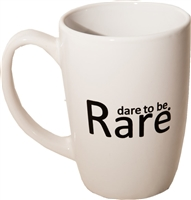 dare to be rare mug-14 oz