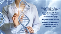 Videos about Torah, Israel, Songs, and Reading Hebrew, the DNA of the Bible
