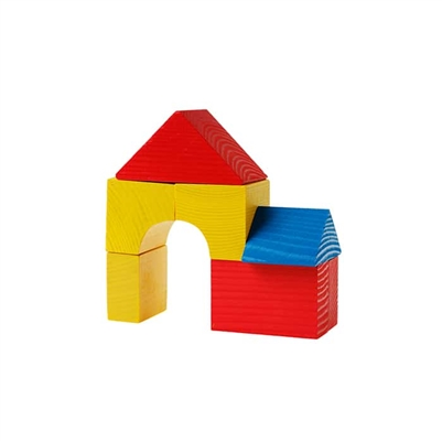 4-Piece Wooden Block Set