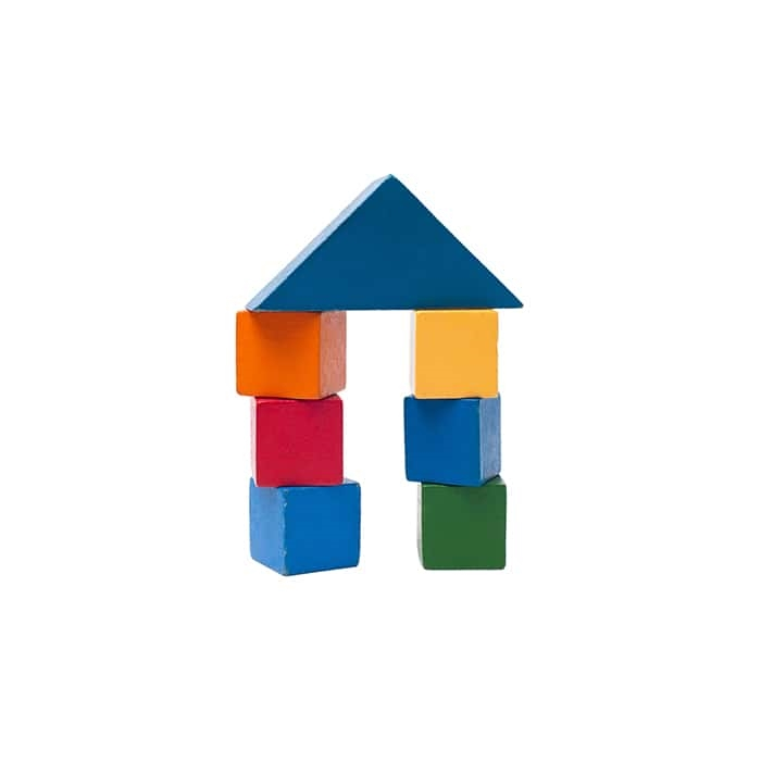 8-Piece Wooden Block Set
