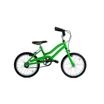 Boys Green Bike