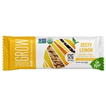 Sprouted Grow Raw Plant Protein Bar - Zesty Lemon