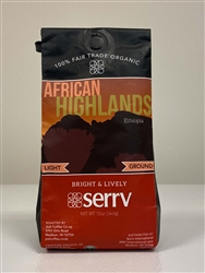 Fair Trade Organic Ethiopian Light Roast Coffee