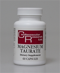 Magnesium Taurate 125mg 60caps
