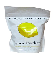 Lemon Towelette 20 Bags