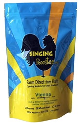 Singing Rooster Organic & Fair Trade Whole Coffee Beans