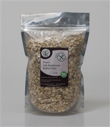 DINA'S ORGANIC OLD FASHIONED ROLLED OATS  12 oz