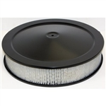 "Black Air Cleaner 14 x 3 ""Muscle"" Style"