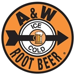 A & W Root Beer - Ice Cold