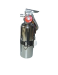 Fire Extinguisher Chrome 1 Lb. with Bracket