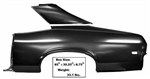 1968-69  Nova Full Quarter Panel With Sail LH