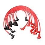 HEI Distributor Spark Plug Wires 8MM Under Covers