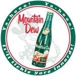 Mountain Dew - Round - Hillbilly
