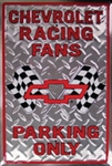 Chevy Racing Fan Parking Only