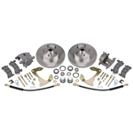 Deluxe Disc Brake Kit, 1955-1964 Chevy Full-size Car, Stock Spindle