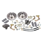 Deluxe Disc Brake Kit 1965-1968 Chevy Full Size Car Smooth Rotors