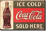 MAGNET Magnet: COKE c.1916 Ice Cold
