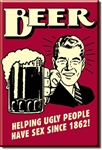 MAGNET Magnet: Beer - Ugly People
