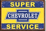 MAGNET Magnet: Super Chevy Service