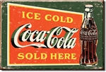 MAGNET Magnet: COKE Ice Cold Green
