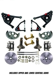 Deluxe Suspension Brake Kit Smooth Rotors Tubular A Arm  GM F Body