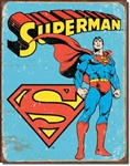 TIN SIGN Superman - Retro