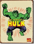 TIN SIGN Hulk Retro
