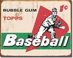 TIN SIGN TOPPS - 1958 Baseball Cards