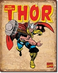 TIN SIGN Thor Retro