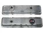 1964-72 Chevelle Small Block Finned Aluminum Valve Covers