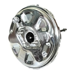 "1964-72 Chevelle 11"" OEM Style Power Brake Booster Chrome"