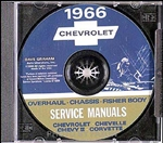 1966 Chevelle Shop Repair Manual CD