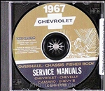 1967 Chevelle Shop Repair Manual CD