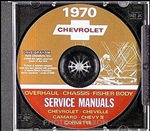 1970 Chevelle Shop Repair Manual CD