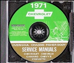 1971 Chevelle Shop Repair Manual CD