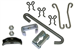 1964-72 Chevelle Parking Brake Cable Support Kit without TurboHydromatic 400