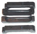 68-76 Chevelle Radiator Pad Cushions 4 core set of 4