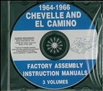 64-66 Chevelle Assembly Manual CD